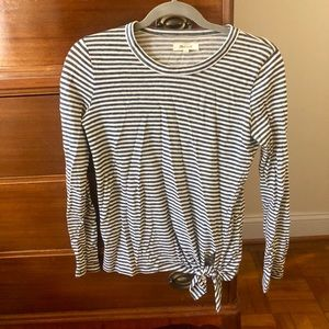 Madewell Striped Long Sleeve Tee